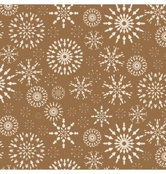 Christmas pattern winter theme retro texture vector