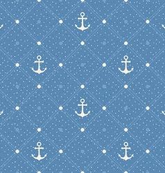 Vintage marine seamless pattern paper textured vector