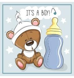 Bear boy vector image