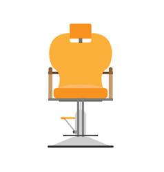 Barber chair hair salon hairdresser shop design vector