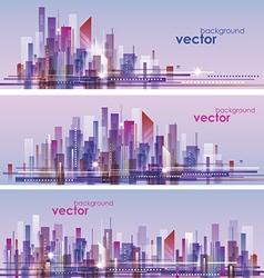 Cityscape architecture vector