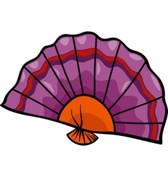 fan clip art cartoon vector image vector image