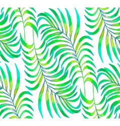 Palm Leaf pattern2 vector image vector image