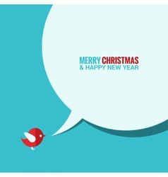christmas social media concept background vector image