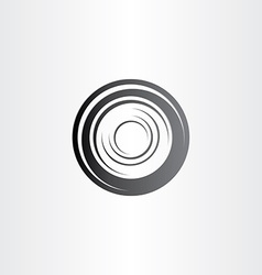 Car wheel symbol design vector