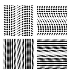 backdrop of dots collection dot seamless vector image vector image