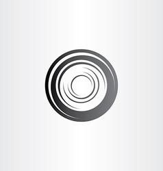 Car wheel symbol design vector