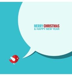 Christmas social media concept background vector