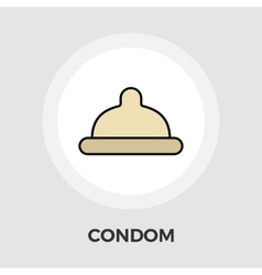 Condom Flat Icon vector image vector image