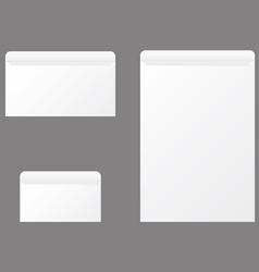 Open envelopes vector image vector image