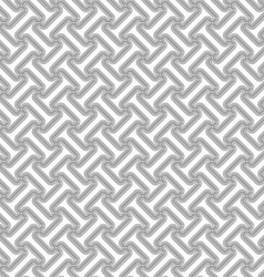 Slim gray striped diagonal t shapes vector