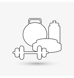 Healthy lifestyle design bodycare icon colorful vector