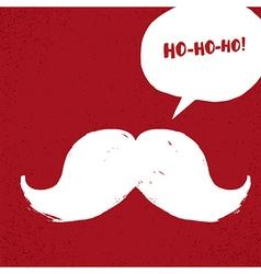 Ho-Ho-Ho Christmas concept vector image vector image