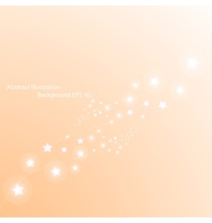 Magic stars way Abstract background vector image