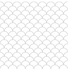 Simple seamless fish scale pattern vector