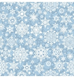 Christmas pattern snowflake background EPS 10 vector image