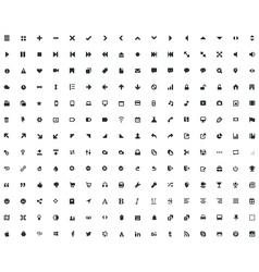 208 Micro Icon vector image