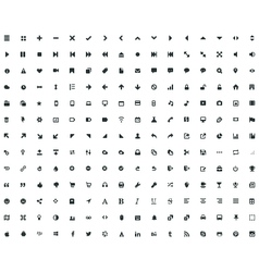 208 micro icon vector