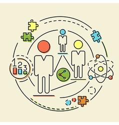 Concept business idea vector