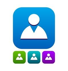 Contact icon vector
