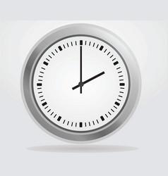 Analog wall clock vector