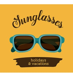Holidays and vacations design vector