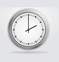 Analog wall clock vector