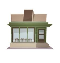 Book store vector