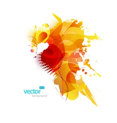 Colorful splash vector