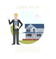 Home building banner1 vector