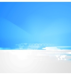 Abstract technology bright background vector image vector image