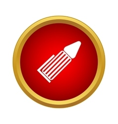 Marker Icon simple style vector image