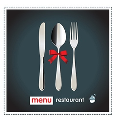menu design happy vector image
