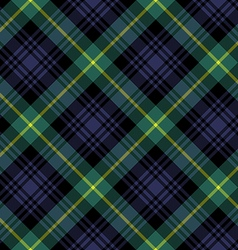 Gordon tartan fabric textile check pattern vector