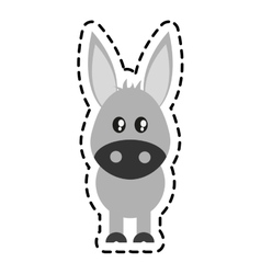 Animal cartoon icon vector