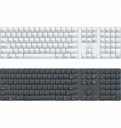 Computer keyboard vector