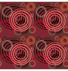 seamless pattern with spiral elements vector image vector image