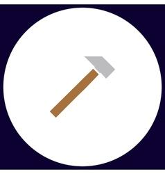 Sledgehammer computer symbol vector