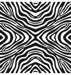 Trendy seamless zebra background vector