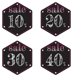 Sale discount vector