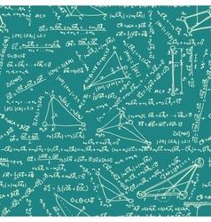 Maths seamless pattern eps 8 vector