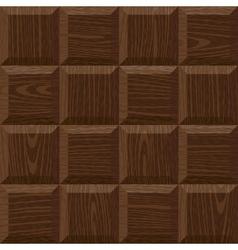 seamless oak square parquet vector image