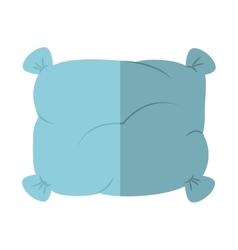 Pillow icon resting and sleep design vector
