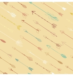 Arrows for bow modern seamless pattern vector image vector image