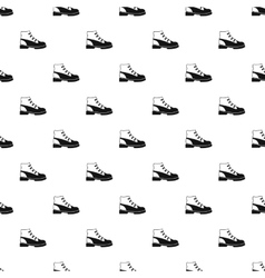 Boot pattern simple style vector image