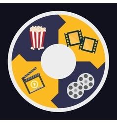 Cinema icons design vector