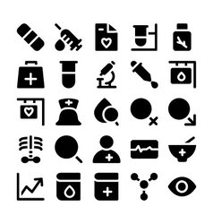 Medical icons 3 vector