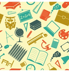 School background Seamless vector image