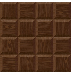 seamless oak square parquet vector image