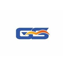 Sg letter logo vector
